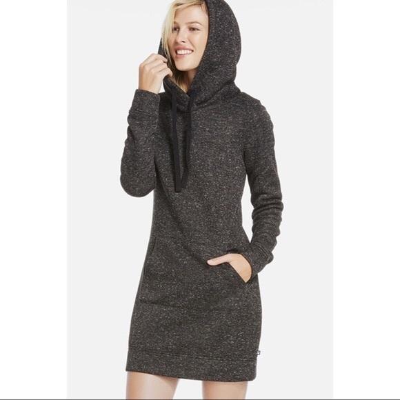 1fe57cc86f Fabletics Dresses   Skirts - Fabletics Medium Gray Yukon Hoodie Dress H11